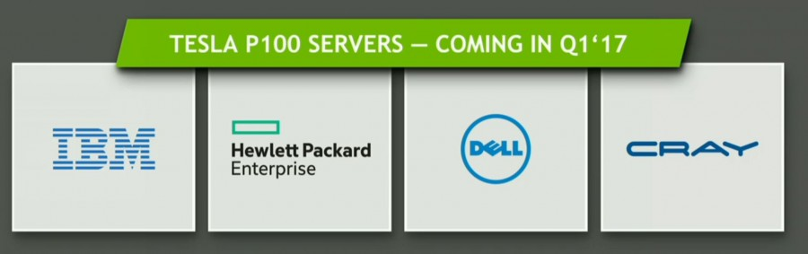 TESLA P100 servers