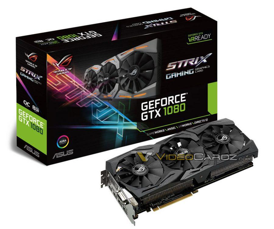 ASUS ROG STRIX GeForce GTX 1080 VC