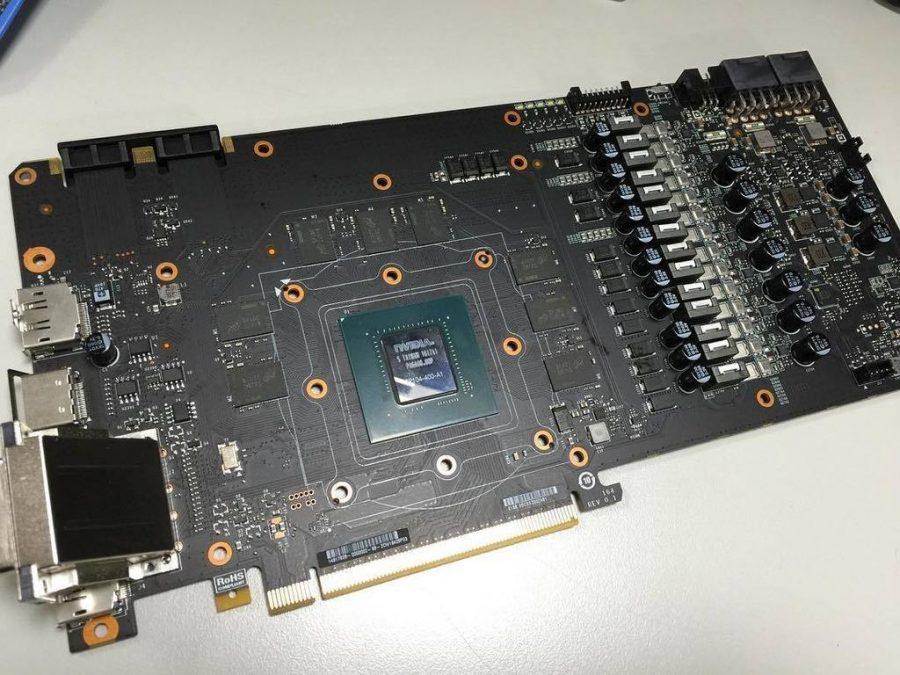 EVGA GTX 1080 CLASSIFIED PCB