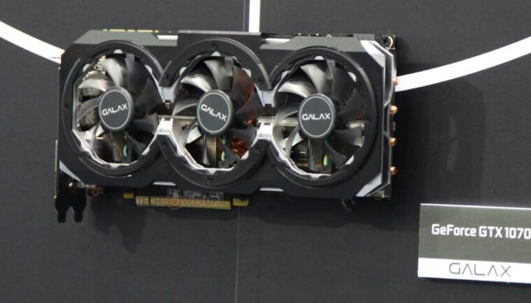 GALAX GeForce GTX 1070 GAMER