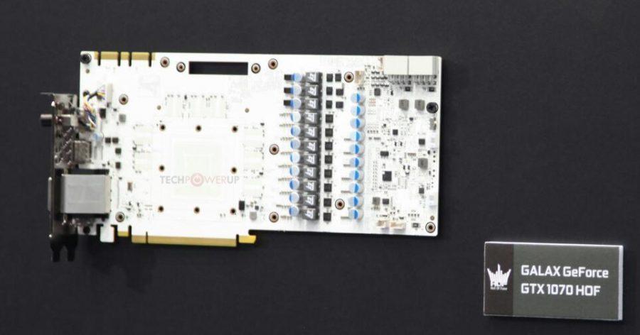 GALAX GeForce GTX 1070 HOF