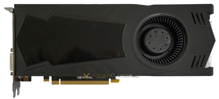 GALAX GeForce GTX 1080 front