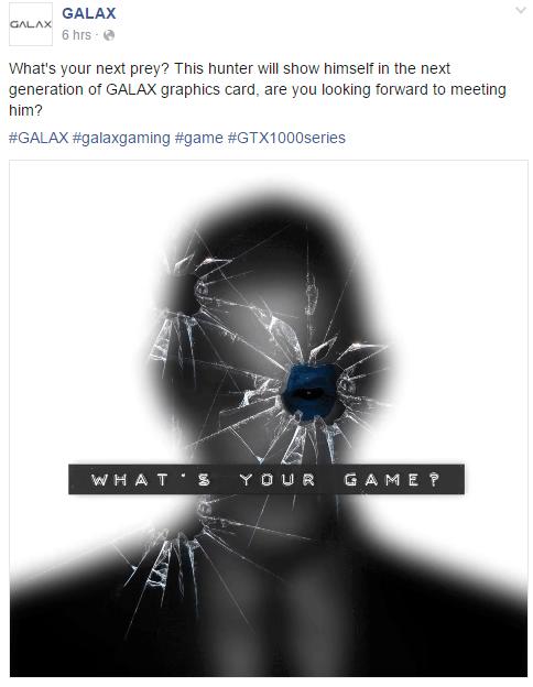 GALAXY GTX 1080 HOF
