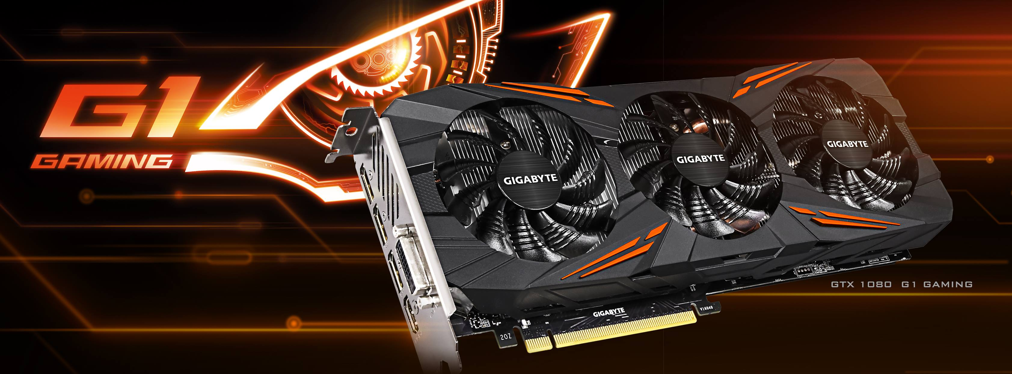 Gigabyte announces GeForce GTX 1080 G1 Gaming   VideoCardz com