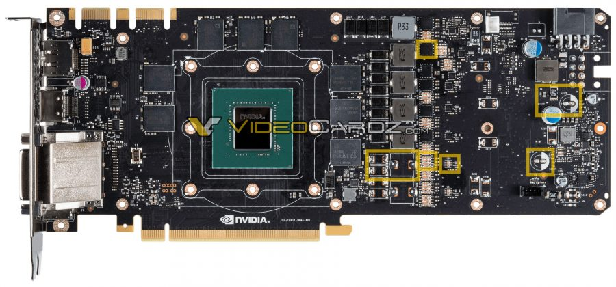 GTX 1070 vs GTX 1080 PCB