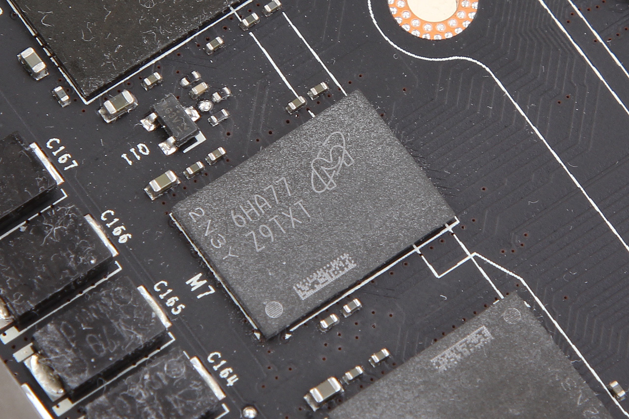 GTX 1080 MICRON GDDR5X MEMORY
