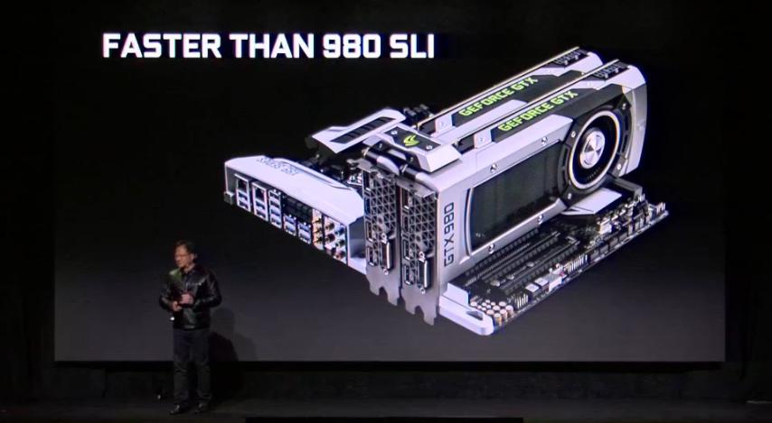 GTX 1080 faster than 980 SLI