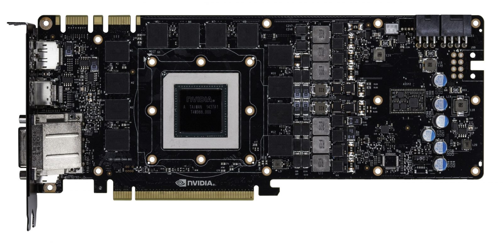 Nvidia Geforce Gtx 1080 Pcb Pictured Videocardz Com