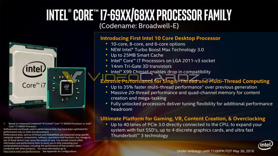 Intel Broadwell-E i7 69XX 68XX (1)