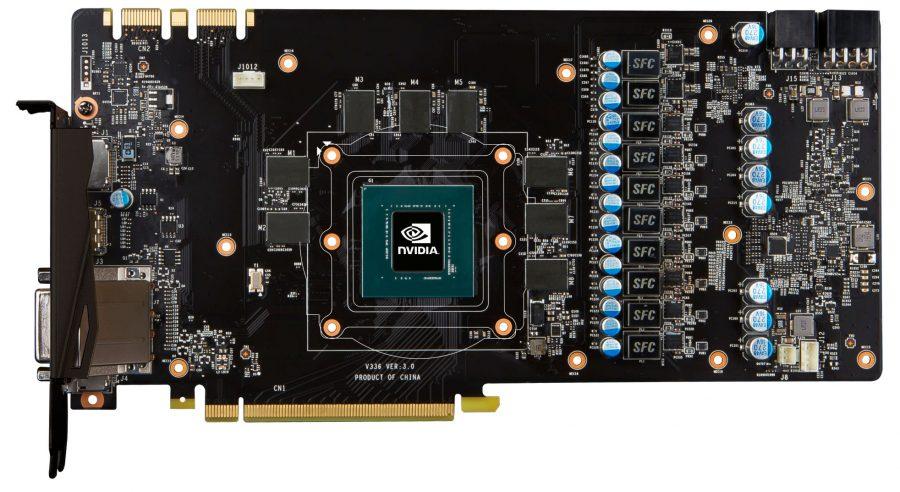 MSI GTX 1080 GAMING X PCB