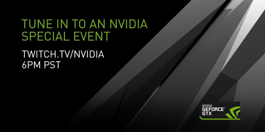 NVIDIA GTX 1080 annoucement