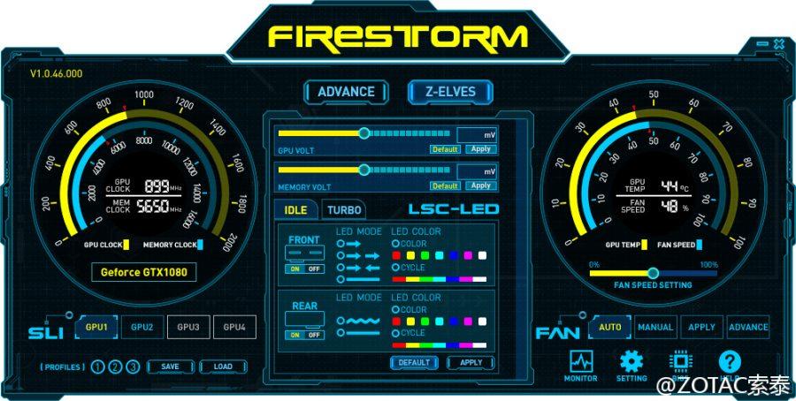 ZOTAC FireStorm GTX 1000 (1)