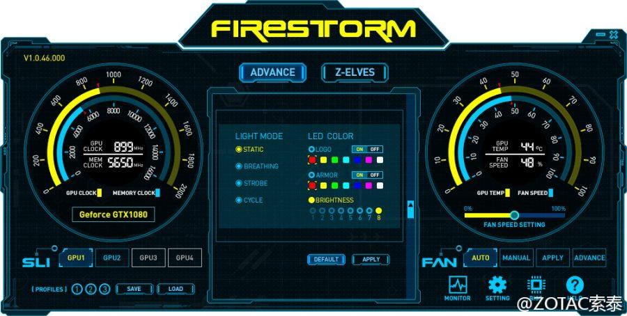 ZOTAC FireStorm GTX 1000 (2)
