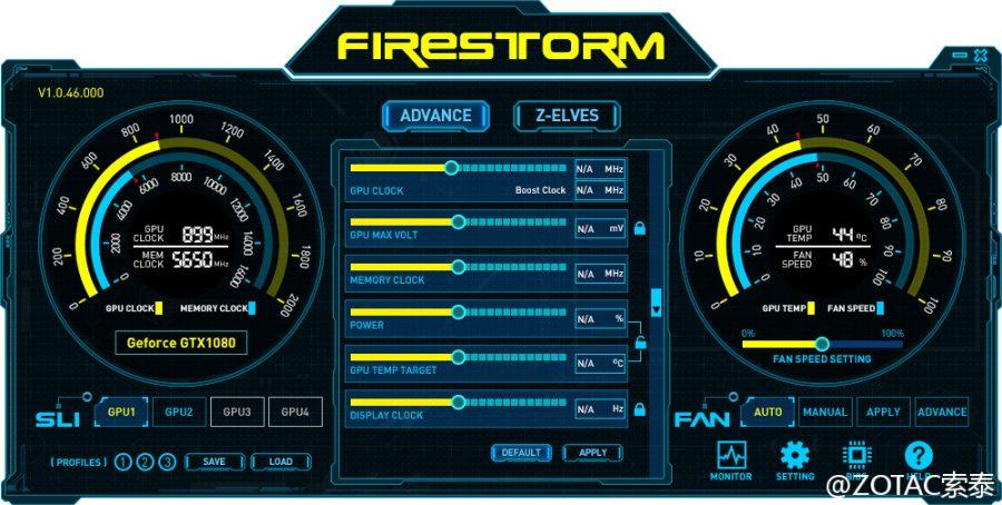 ZOTAC FireStorm GTX 1000 (3)