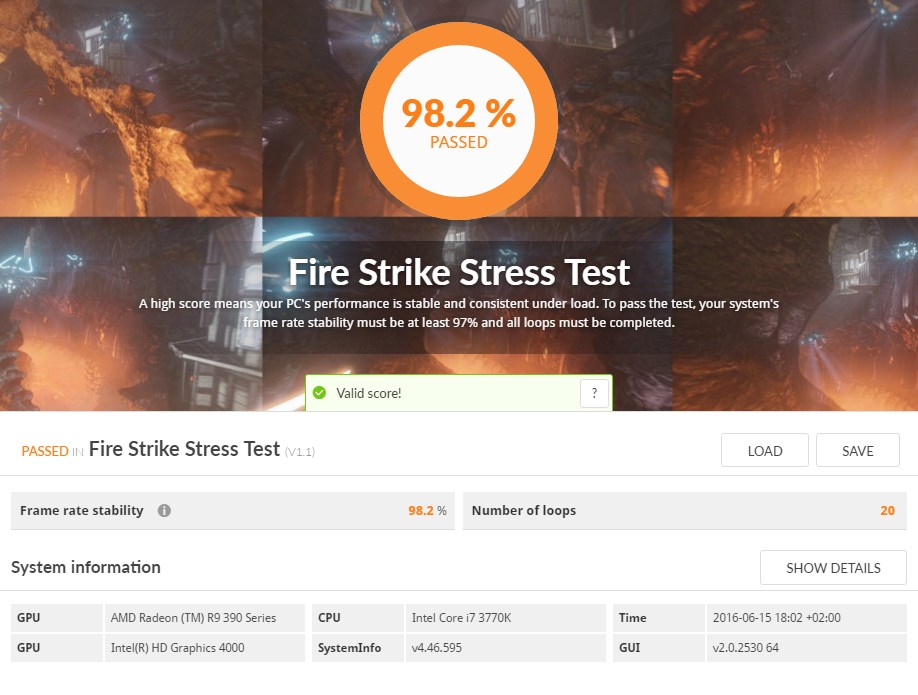 Firestrike Test