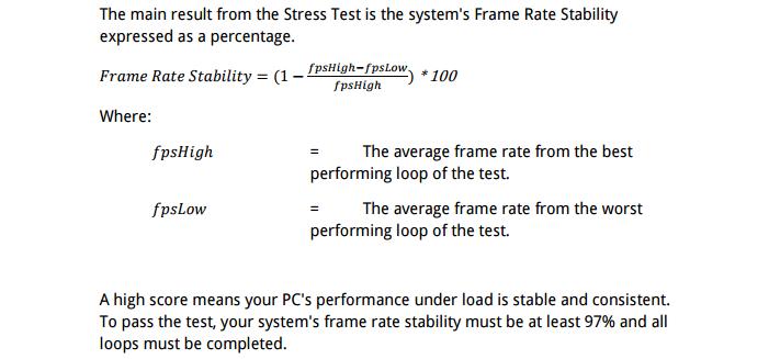 3dmark stress test formula