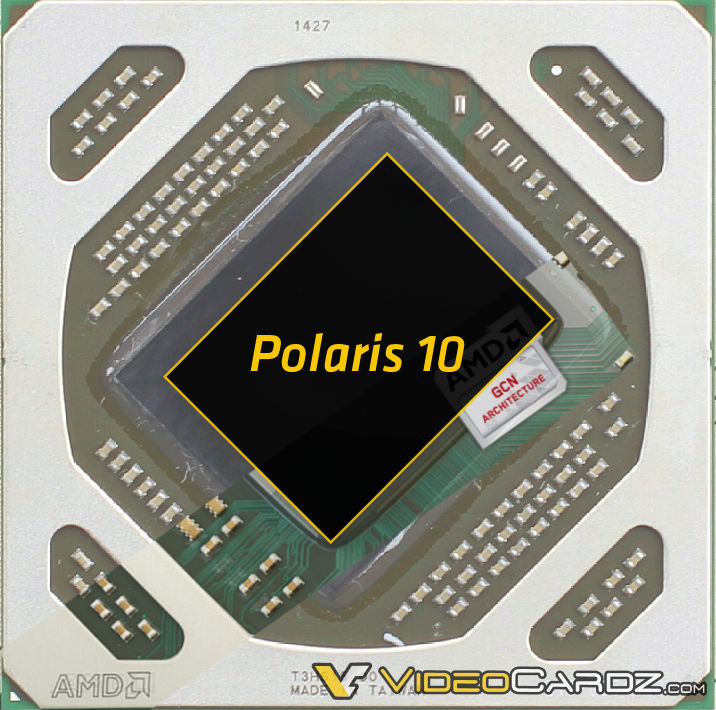 AMD POLARIS 10 mockup