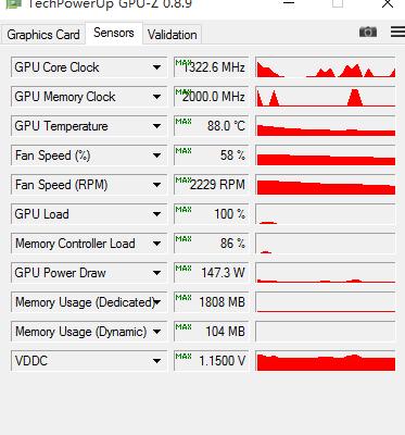 AMD RX 480 GPUZ
