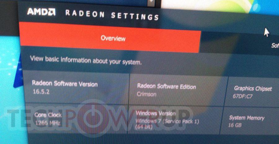 AMD Radeon RX 480 Clock Speeds
