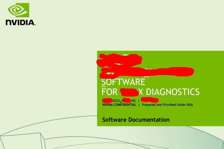 NVIDIA Diagnostics Tool