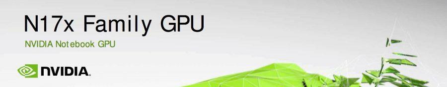 NVIDIA GeForce 10 Mobile Series