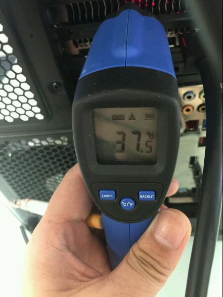 RX 480 temperature idle