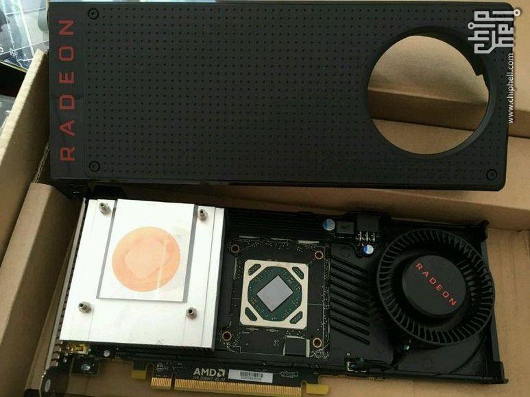 Radeon RX 480 cooler