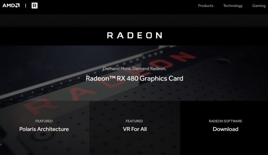 Radeon_com website
