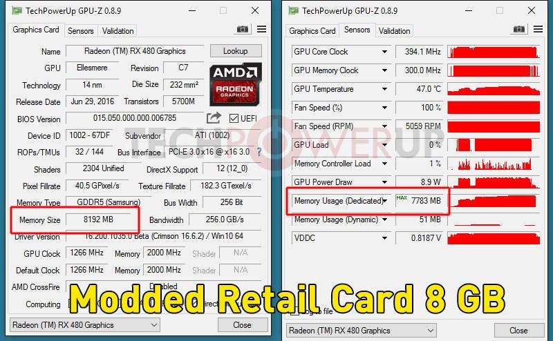 AMD RX 480 4GB to 8GB mod (2)