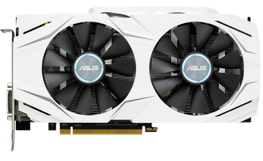 ASUS GeForce GTX 1060 DUAL (front)