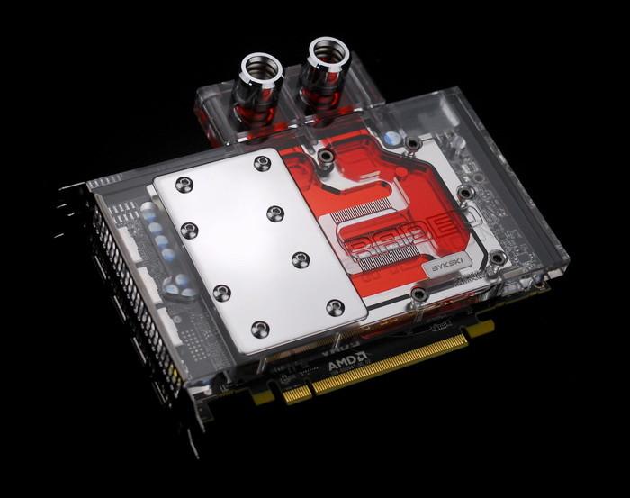 BYKSKI releases water block for AMD Radeon RX 480