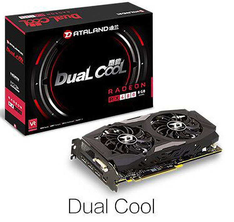 Dataland Radeon RX 480 Dual Cool