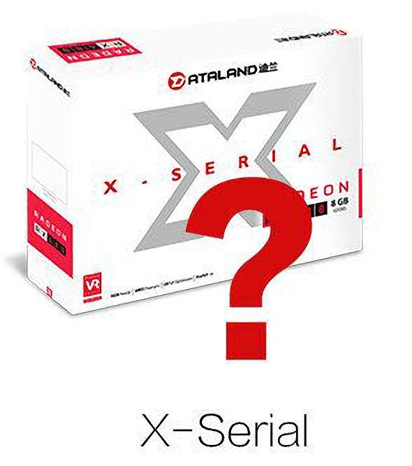 Dataland Radeon RX 480 X-Serial