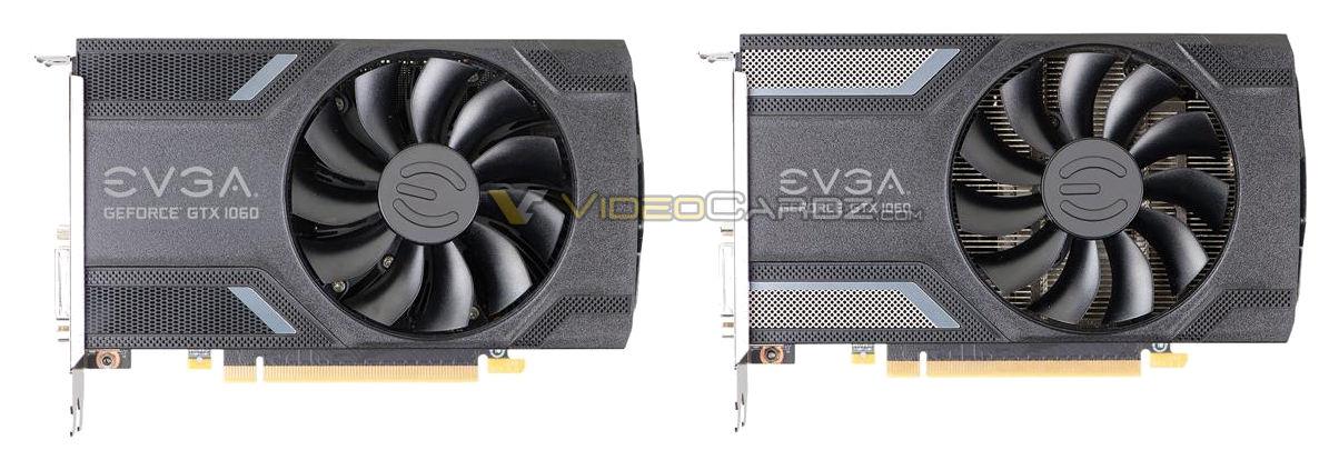 EVGA GeForce GTX 1060 pictured | VideoCardz com