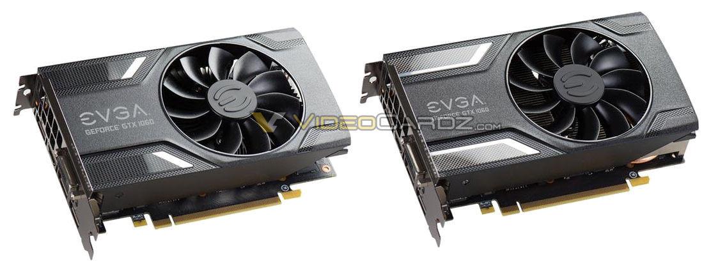 EVGA GeForce GTX 1060 pictured   VideoCardz com