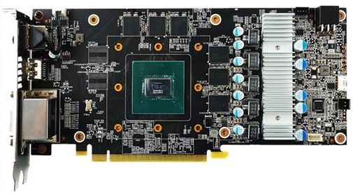 GAINWARD GeForce GTX 1060 PCB (2)