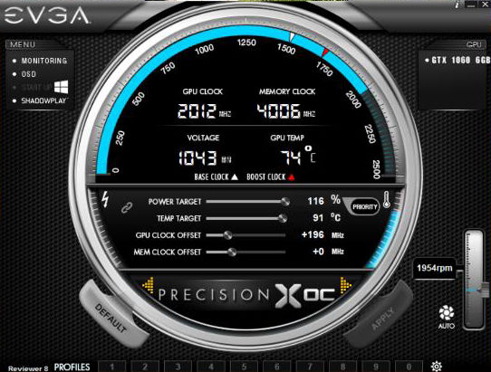 GTX 1060 2 GHz