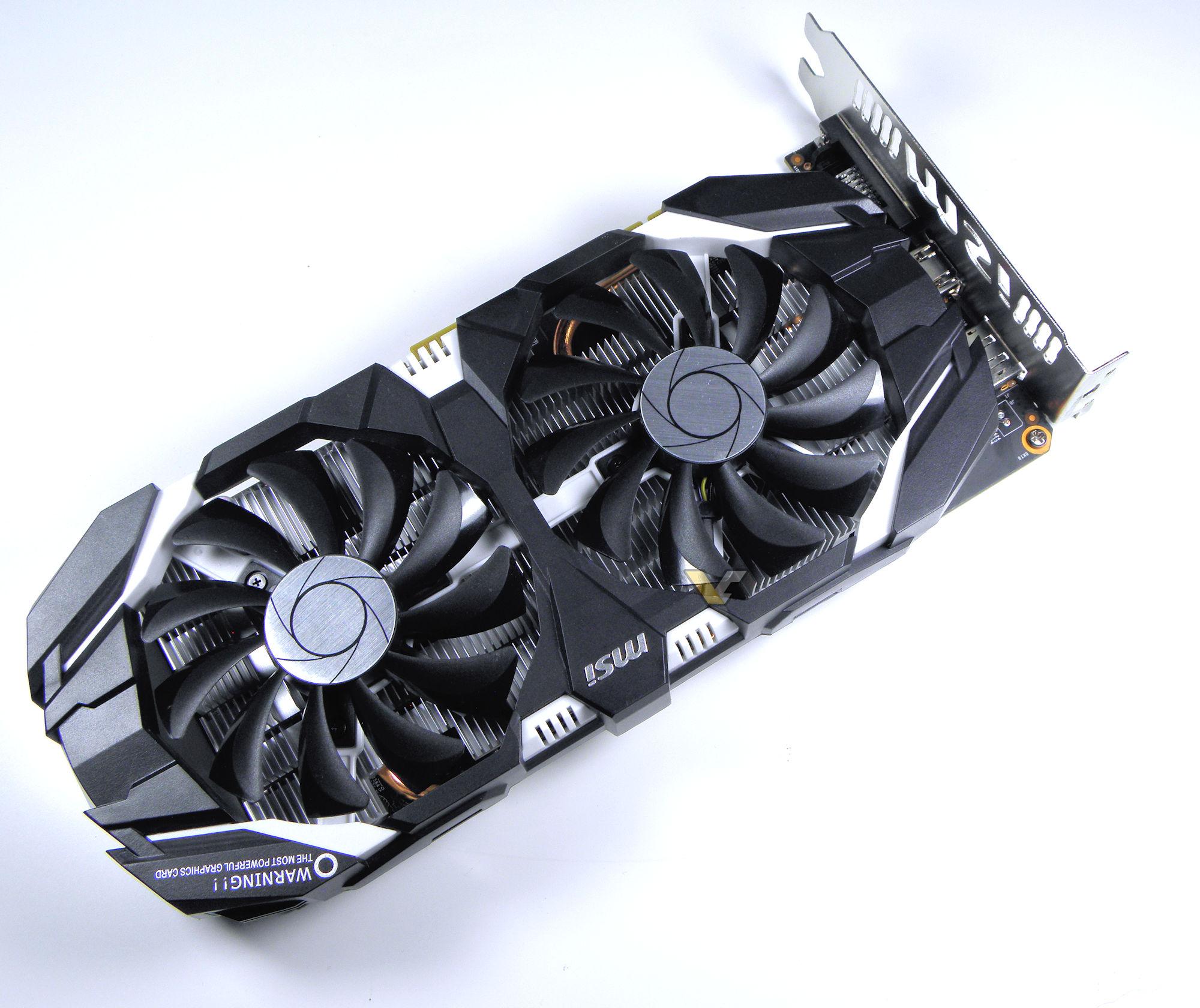 MSI GeForce GTX 1060 6GT OC - VideoCardz com