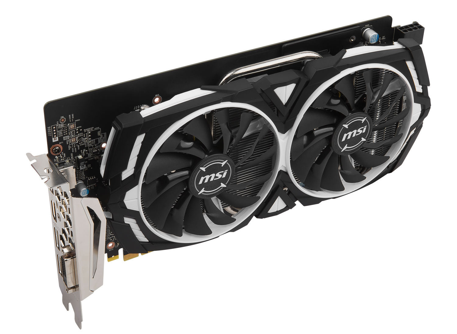 1060 Graphics Card >> MSI GeForce GTX 1060 6GTOC pictured | VideoCardz.com