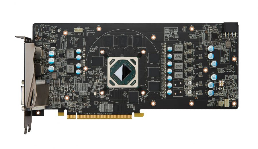 MSI Radeon RX 480 PCB