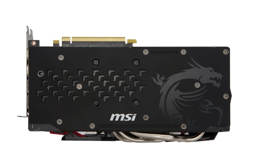 MSI Radeon RX 480 backplate