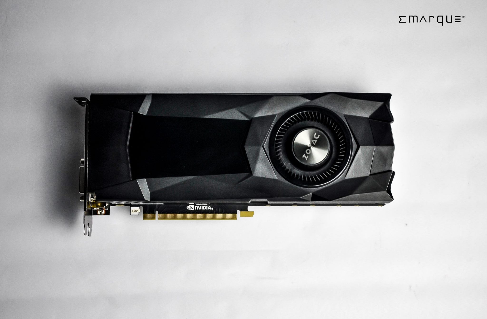 ZOTAC GeForce GTX 1070 Reference Edition is completely black