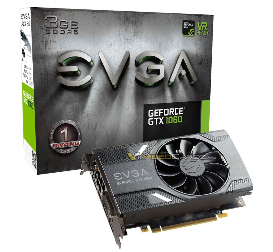 EVGA GTX 1060 3GB Mini