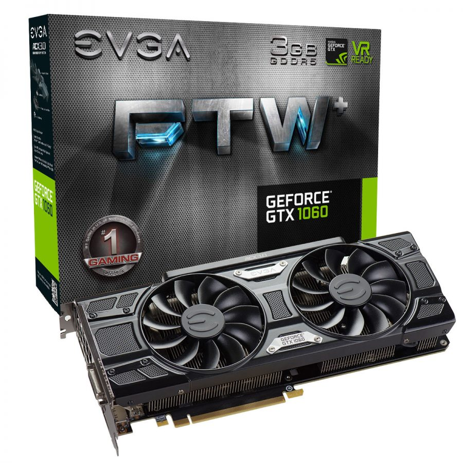 EVGA GeForce GTX 1060 3GB (FTWp)