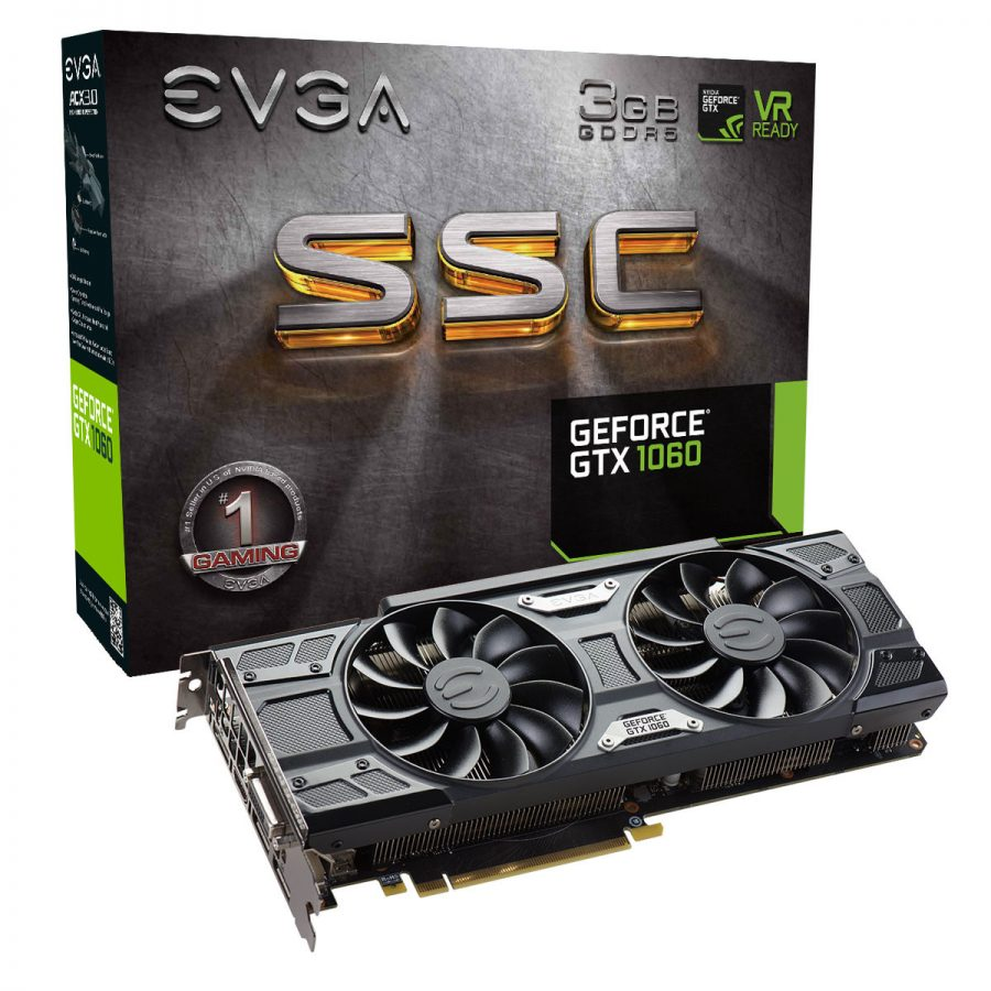 EVGA GeForce GTX 1060 3GB (SSC)