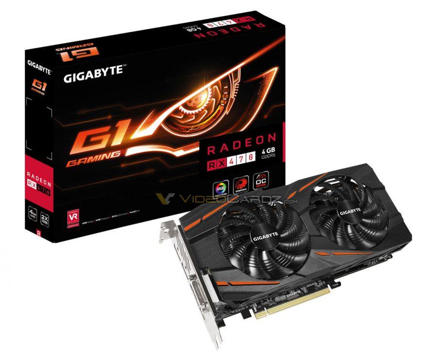 GIGABYTE Radeon RX 470 G1 GAMING