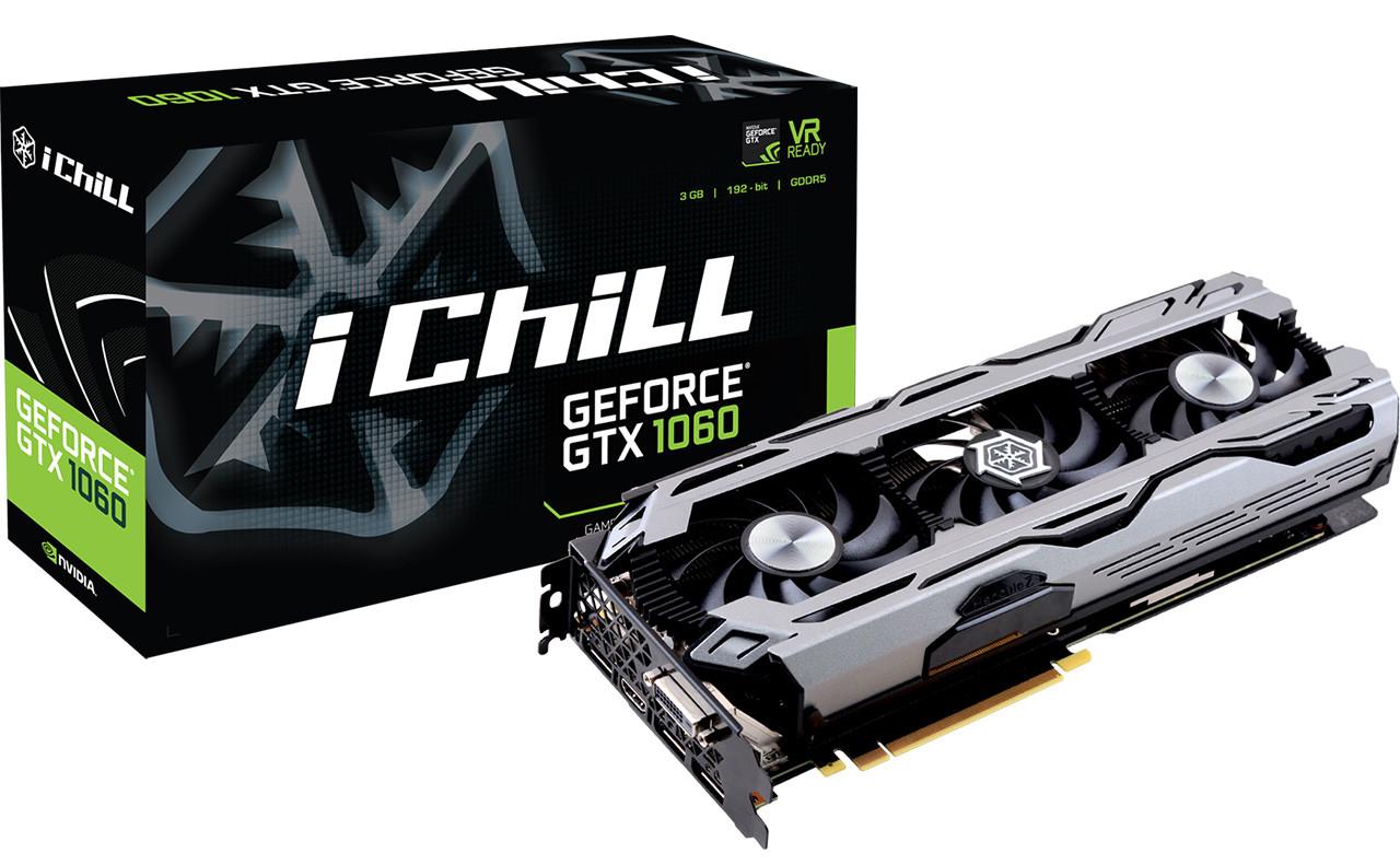 Inno3D announces GeForce GTX 1060 3GB | VideoCardz com