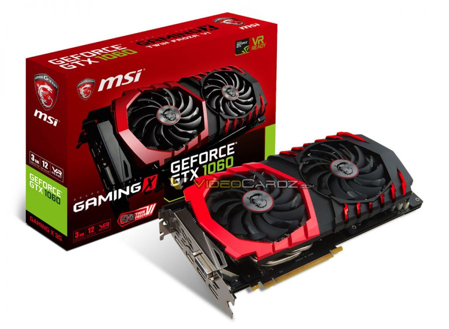 MSI GTX 1060 3GB GAMING X