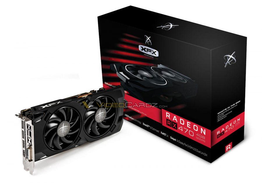 XFX Radeon RX 470 Black