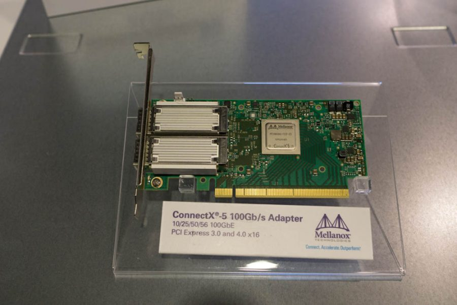 connectx pcie 4